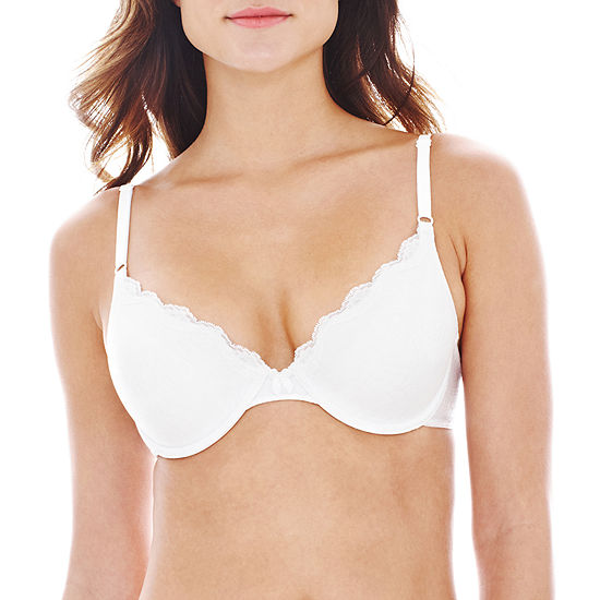 f6e4d1b75fbe7 Maidenform One Fab Fit Embellished Demi Bra 9471 JCPenney