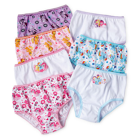 My Little Pony 7-pk. Brief Panties - Girls