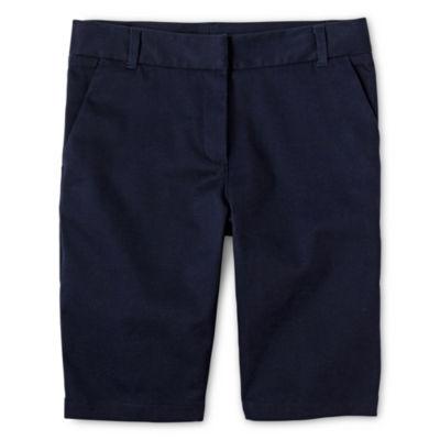 IZOD® Twill Bermuda Shorts - Preschool Girls 4-6x