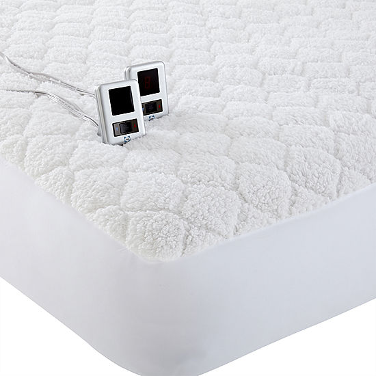 jcpenney heated mattress pad Biddeford Sherpa Heated Mattress Pad jcpenney heated mattress pad
