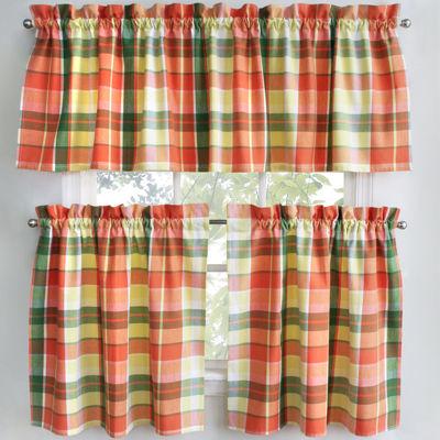Attractive Jcpenney.com | Park B. Smith Plaid Stripe Kitchen Curtains