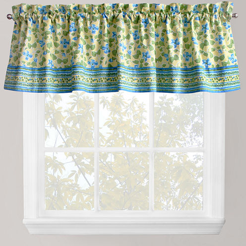 Park B. Smith® Boutique Flowers Rod-Pocket Valance
