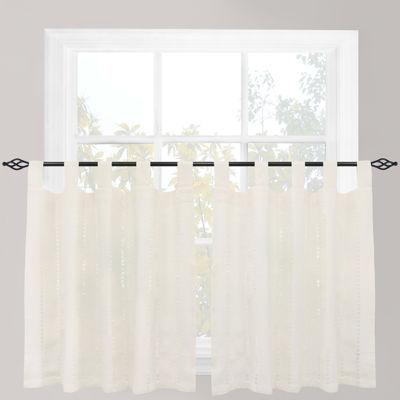 Park B. Smith® Eyelet Tab-Top Window Tiers