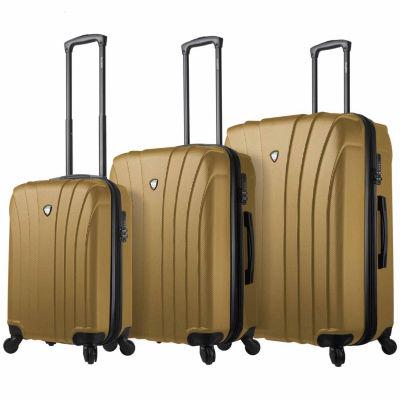 Mia Toro Italy Nicosia 3-pc. Hardside Luggage Set