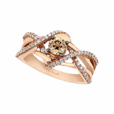 Grand Sample Sale™ by Le Vian® 3/4 CT. T.W. Vanilla Diamonds® & Chocolate Diamonds® set in 14K Gold Chocolatier® Ring