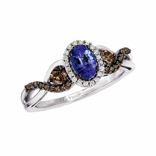 vian aquamarine le ring blueberry tanzanite bypass vanilla p and diamond in gold blue v ae sea