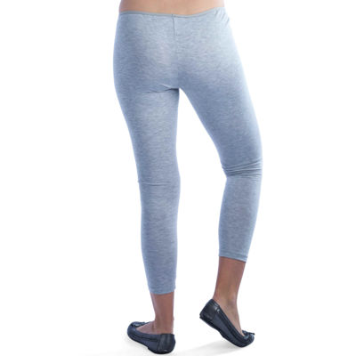 24/7 Comfort Apparel Ankle Length Knit Leggings