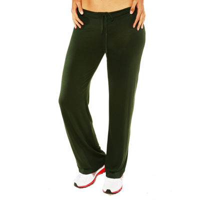 24/7 Comfort Apparel Draw String Narrow Unisex Pull-On Pants