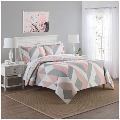 Marble Hill Lena 3-pc. Midweight Reversible Comforter Set