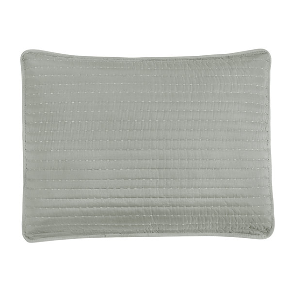 Frank and Lulu Pick Stitch Quilted Pillow Sham