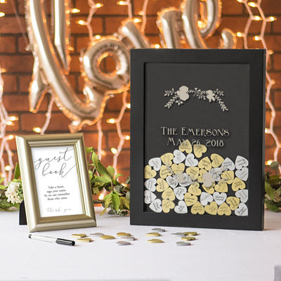 Cathy's Concepts Personalized Drop Guest Book