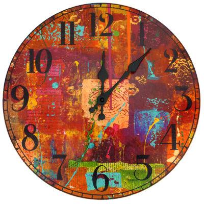 Oriental Furniture India By Gita Wall Clock