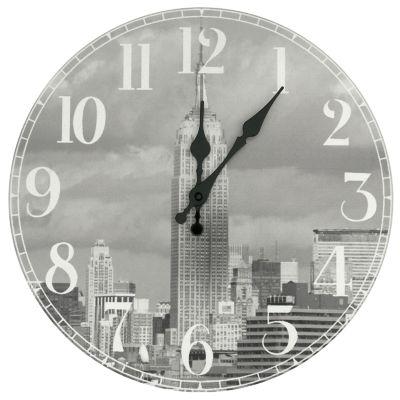 Oriental Furniture Empire State Building Wall Clock