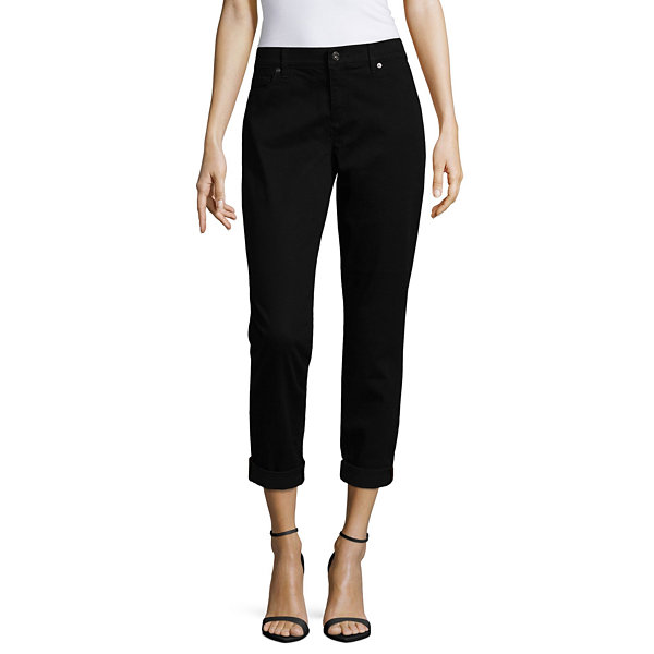 3ce99574c Compared to Similar Items. Current Product. Liz Claiborne® City-Fit  Boyfriend Skinny Jeans