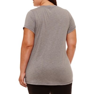 Xersion Short Sleeve Crew Neck Graphic T-Shirt