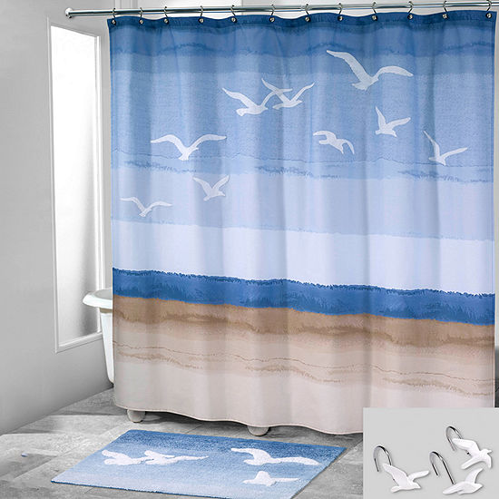 Avanti Seagulls Shower Curtain Set