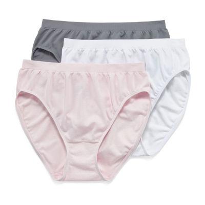 Jockey Comfies® 3 Pair Microfiber French Cut Panty 3326