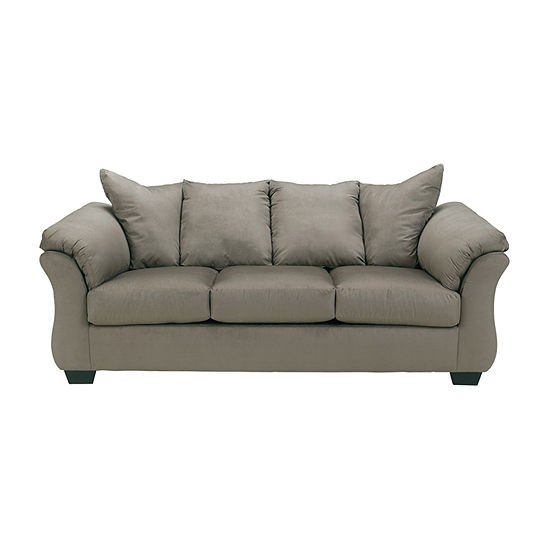 Ashley Audrey Fabric Pad Arm Sofa