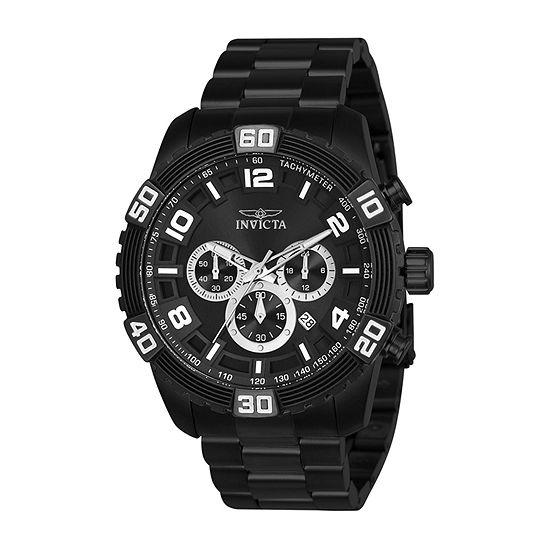 Invicta Mens Black Bracelet Watch-24606