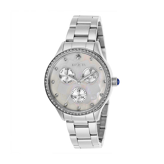 Invicta Womens Silver Tone Bracelet Watch-29090