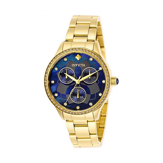 Invicta Womens Gold Tone Bracelet Watch-29095