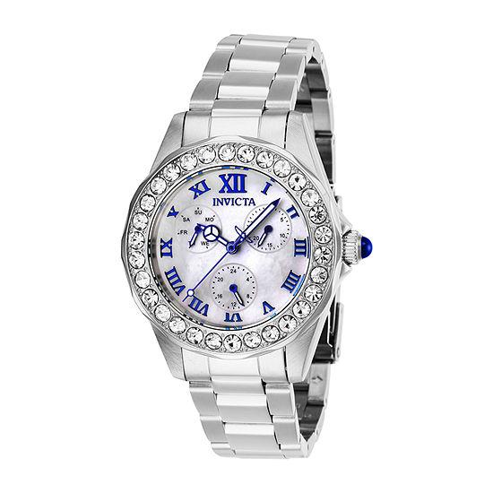 Invicta Womens Silver Tone Bracelet Watch 28463