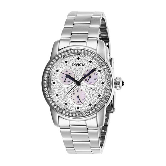 Invicta Womens Silver Tone Bracelet Watch-28466
