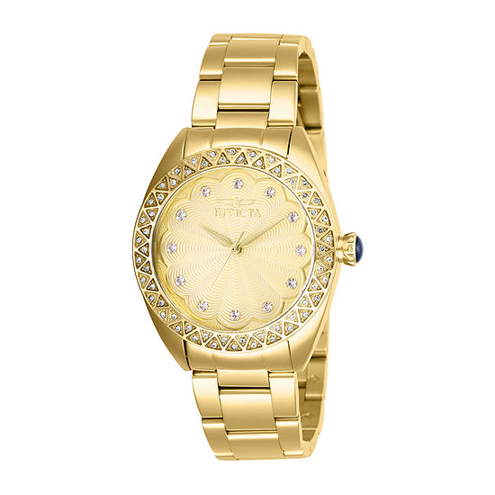 Invicta Womens Gold Tone Bracelet Watch-28826