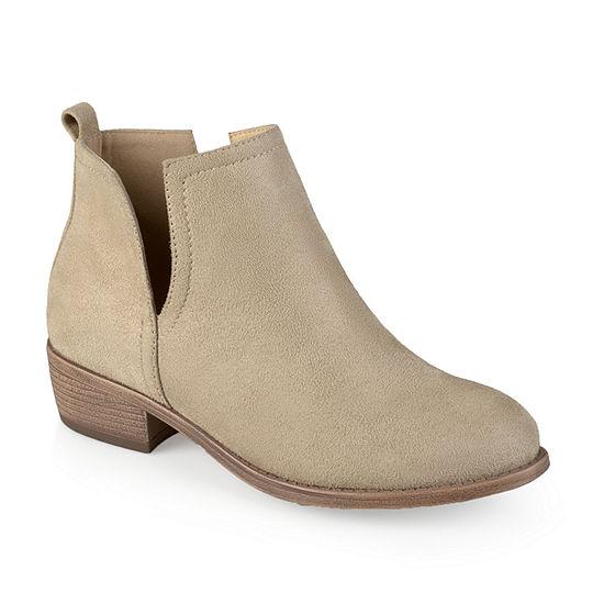 Journee Collection Womens Rimi Booties Block Heel
