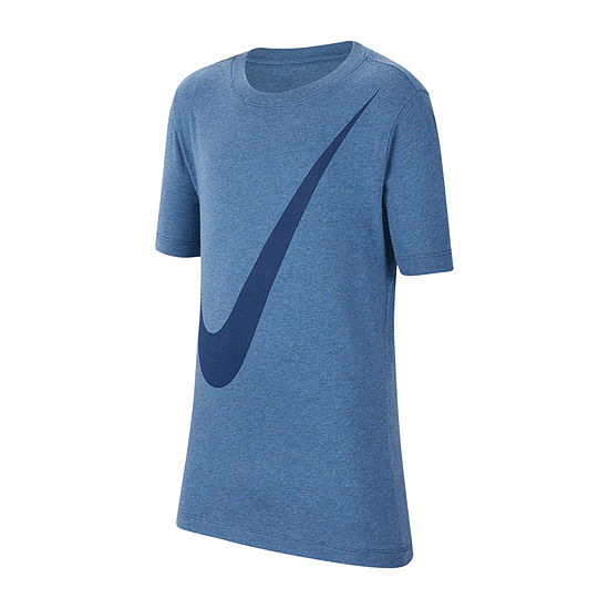 Nike Boys Crew Neck Short Sleeve Graphic T-Shirt - Big Kid