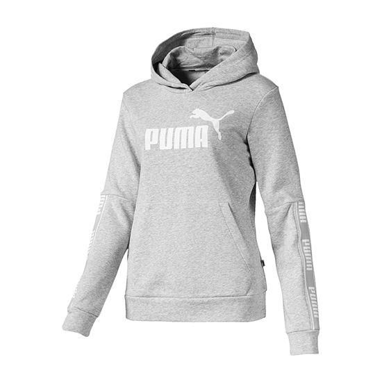 Puma Womens Long Sleeve Knit Hoodie