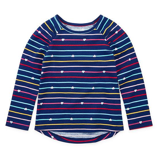 Okie Dokie Toddler Girls Long Sleeve T-Shirt