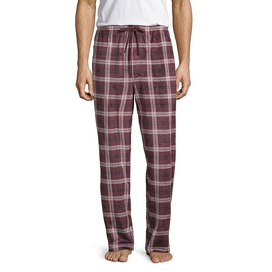 Stafford Mens Tall Fleece Pajama Pants