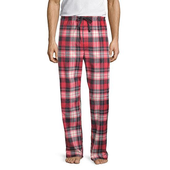 Stafford Mens Big and Tall Microfleece Pajama Pants