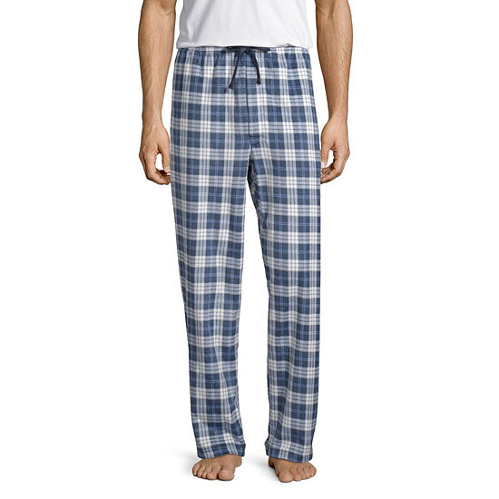 Stafford Mens Microfleece Pajama Pants- Big and Tall