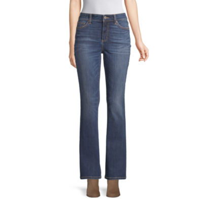 St. John's Bay Womens Mid Rise Regular Fit Bootcut Jean by St. John`s Bay