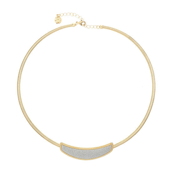 Monet Jewelry 18 Inch Omega Collar Necklace