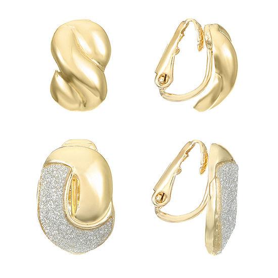 Monet Jewelry 2 Pair Earring Set