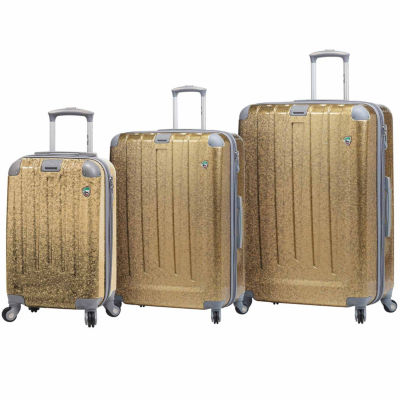 Mia Toro Italy Particella 3-pc. Hardside Luggage Set