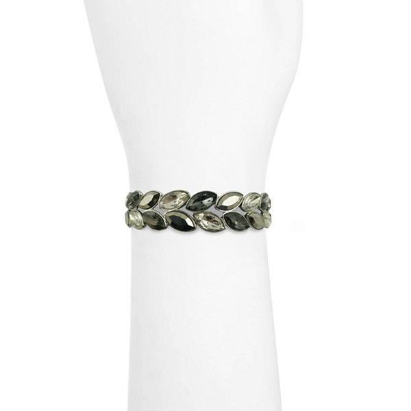 Liz Claiborne Liz Claiborne Womens Clear Stretch Bracelet lpatw