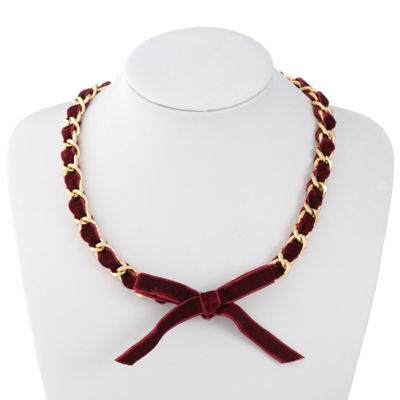 Liz Claiborne 20 Inch Curb Chain Necklace