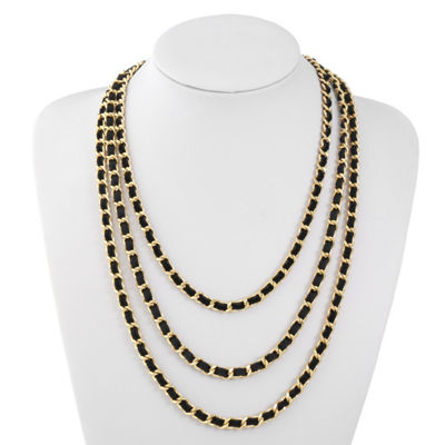Liz Claiborne Curb 25 Inch Chain Necklace