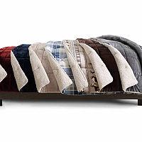 JCPenney Home Faux Ultra Mink Fur & Sherpa Comforter (Twin)