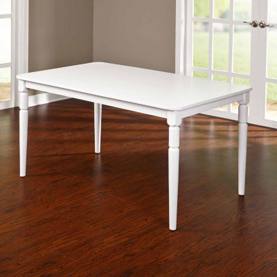 Albury Wood-Top Dining Table