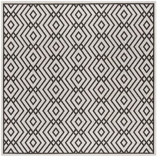 Safavieh Linden Collection Bedinn Geometric Square Area Rug