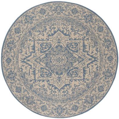 Safavieh Linden Collection Eliot Oriental Round Area Rug