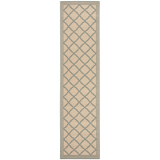 Safavieh Linden Collection Ellison Geometric Runner Rug