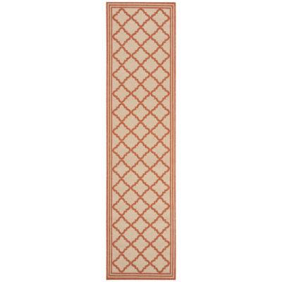 Safavieh Linden Collection Ellison Geometric Runner Rug