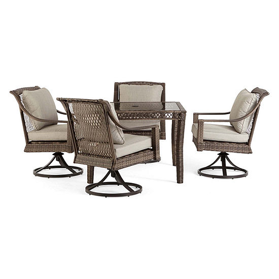 Outdoor Oasis Latigo Wicker 4-pc. Patio Dining Chair