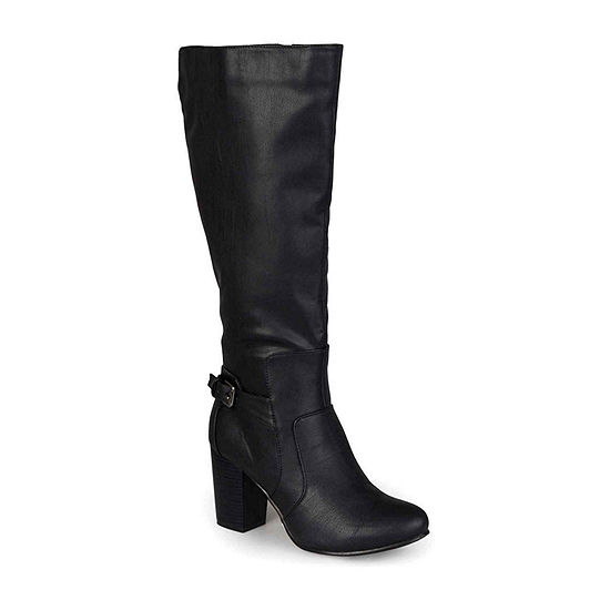 Journee Collection Womens Carver Wide Calf Boots